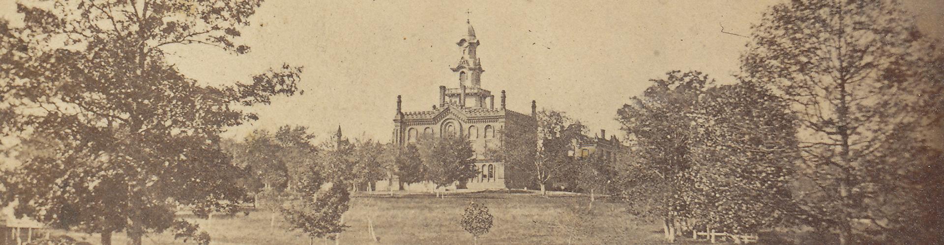 Old campus photo
